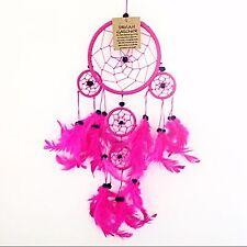 Pink Dream Catchers Multi Feather Kids Room Hanging Bad Dreamcatchers
