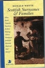 Scottish Surnames & Families, by; Donald Whyte, 1996 Book