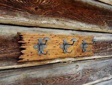 Placa de madera en rack Abrigo Sombrero, hecho a mano, hechos a mano diseño único, una foto 1