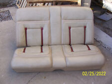 1977 1978 1979 LINCOLN MARK V REAR BENCH SEAT HAS WEAR USED OEM