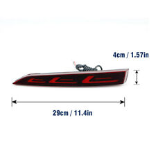 For Hyundai Solaris Accent 2017-2018 Red LED Rear Bumper Tail Brake Light Lamp