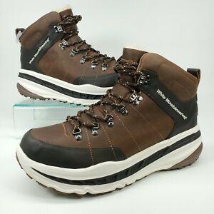 Ugg X White Mountaineering Boots 805 Chestnut Leather Mens Size 12 Waterproof