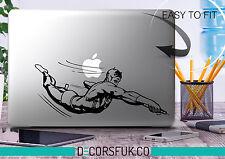 Daredevil Macbook Stickers on black vinyl | Marvel | Macbook Decals