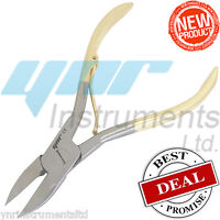 Toe Nail Clippers Cutter Nippers Chiropody Heavy Duty Thick Nail Art Care Gold