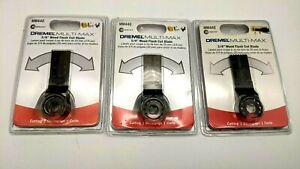 "3 New Dremel Multi Max Oscillating Blade 3/4"" Wood Cut-  MM440- Free Ship"
