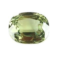 Loose Natural Green Sapphire Gemstone with GIA Report & Certificate Unheated USA