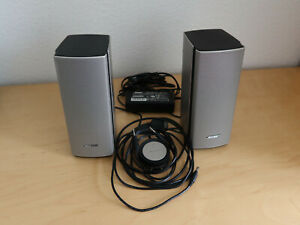 Bose Companion 20 PC-Lautsprecher System, silber