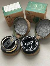 Orvis Battenkill Large Arbor 3/4 Fly Reel-Extra Spool Black Wonderline Line MINT