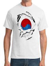 South Korea Ripped Effect Under Shirt - Mens T-Shirt