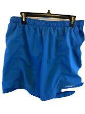 Vintage Men's Nike ACG Shorts Xl X Large Blue rn#56323