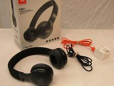 JBL Wireless Heaphones Bluetooth JBLOn-Ear Headphones JBLE45BTBLK Black in Box