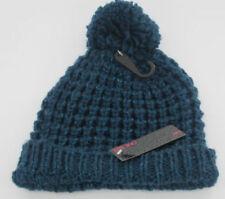 Gorras y sombreros de mujer de color principal azul de lana