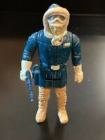 Vintage HAN SOLO (Hoth Outfit) Star Wars Action Figure 1980 Hong Kong - COMPLETE