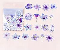 Pack of 45 Pieces White Flower Shaped Various Stickers Seals Cards /& Craft