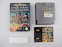 WWF Wrestle Mania Steel Cage Challenge Nintendo NES Boxed PAL A