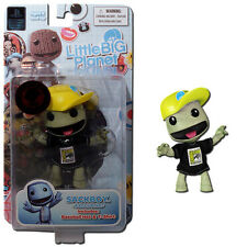 Little Big Planet SDCC Grey Denim Sackboy Figure 2011 SDCC Exclusive - Mezco Toy