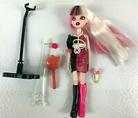 Bratzilla 2012 Ultra Rare Doll Blue & Brown Eyes With Stand & Accessories - Nice