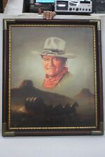 Peter Shinn Signed Framed Original Oil on Canvas John Wayne Art Painting