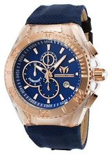 Technomarine Men's TM-115176 Cruise BlueRay Rose Gold Watch