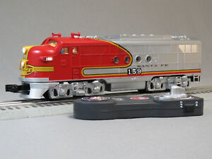 LIONEL SANTA FE LIONCHIEF DIESEL LOCOMOTIVE #159 O GAUGE train sfe 6-84719-E NEW