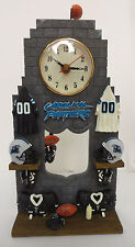 CAROLINA PANTHERS PENDULUM CLOCK NFL FOOTBALL ELBY GIFTS INC NEW WATCH OFFICE