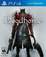 PLAYSTATION 4 PS4 GAME BLOODBORNE BRAND NEW AND SEALED
