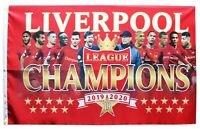 Liverpool Champions Flag Giant 7.5ft x 5ft 2019/20