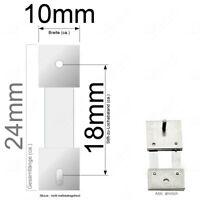 Pendelfeder für Standuhr, Großuhr Regulator 18mm Stiftabstand 415183