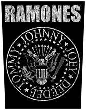THE RAMONES - Classic Seal Rückenaufnäher Backpatch
