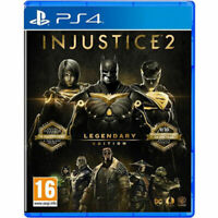 INJUSTICE 2 PS4 LEGENDARY EDITION FACTORY SEALED AND BRAND NEW