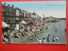 POSTCARD DORSET WEYMOUTH THE BEACH