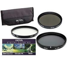 Kit de Filtro Hoya 58mm 3x Hmc Digital Uv (c) + Circular CPL Polarizador + Bolsa De ND8