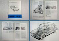 DAF 44 Betriebsanleitung Bedienungsanleitung 07/1971