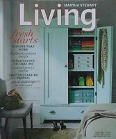 January 2005 Issue 134 of MARTHA STEWART LIVING Magazine