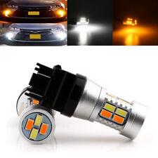10Pcs Turn Signal light T25 3157 Dual-Color Switchback 20SMD 5730 LED Bulbs 12V