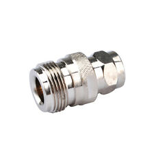 10X N-Type female jack to F male plug straight RF Coaxial Adapter Connector