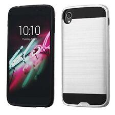 Étuis, housses et coques noirs métalliques pour téléphone mobile et assistant personnel (PDA) Alcatel