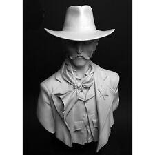 1/10 resin figures bust model kit Callous Cowboy in hat Unassembled Unpainted
