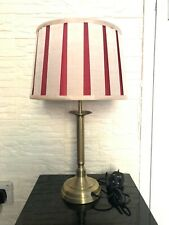 Traditional Table Lamp & lampShade - Antique Brass- Living Room & bedroom