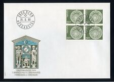 SCHWEIZ Nr.1169 VIERERBLOCK EST BERN FDC - 3.50Fr. FREIMARKE !!! (131906)