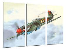 Cuadro Moderno Aviación, Dibujos Aviones Antiguos, Aviones de Guerra, ref. 26451