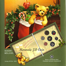 Canada 2005P Holiday Gift Set with Colourized Quarter