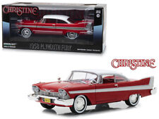 1958 Plymouth Fury Red Christine (1983) Movie 1/24 Diecast Model Car Greenlight