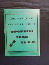 Album Figurine Sportivi 1936 - Il Balilla - Set + Album Anastatico
