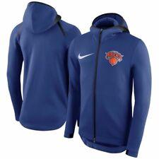NIKE NEW YORK NY KNICKS Men Showtime Full Zip Hoodie Sweatshirt Size Medium NEW