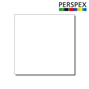 WHITE LASER CUT PLASTIC SQUARES 3MM THICK ACRYLIC - PERSPEX
