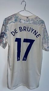 Manchester City Kevin De Bruyne 20/21 Away Jersey Brand New With Tags
