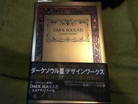 Dark Souls III Design Works Japan Game Art Book New F/S