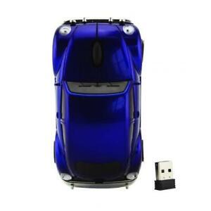Wireless Cute Car Shape Computer Mouse USB Optical Mini 3D Gaming Mice Portable