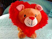 HALLMARK  LITTLE LION HEART ANIMATED PLUSH SINGS DANCES WILD THING Lion Plush